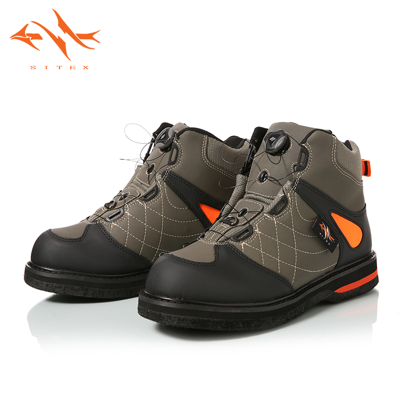 2018 Sitex Men s Fishing Hunting Wading Shoes Breathable Waterproof Boot Outdoor Anti slip Wading Waders