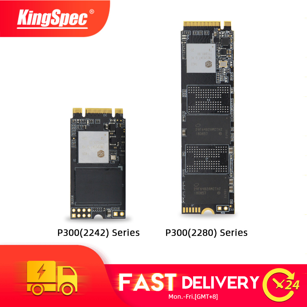 KingSpec m2 ssd 2242 NVMe pcie high performance SSD 128GB 256GB P300 512GB 1TB m2 2280 Internal hdd for Laptop desktop Gaming PC image