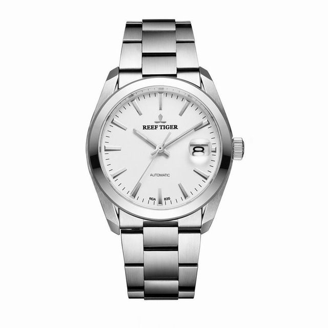 Reef Tiger Classic Serier RGA835 Mens Business Automatic Mechaincal Wrist Watch цена и фото