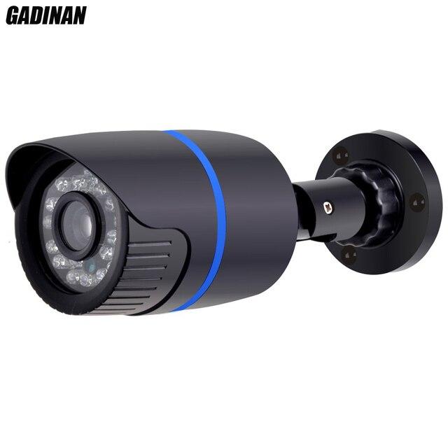 GADINAN 1080P 2MP HI3518E Bullet IP Camera Outdoor Security IP DC 12V or 48V PoE Optional P2P H.264 Motion Detection ONVIF Xmeye