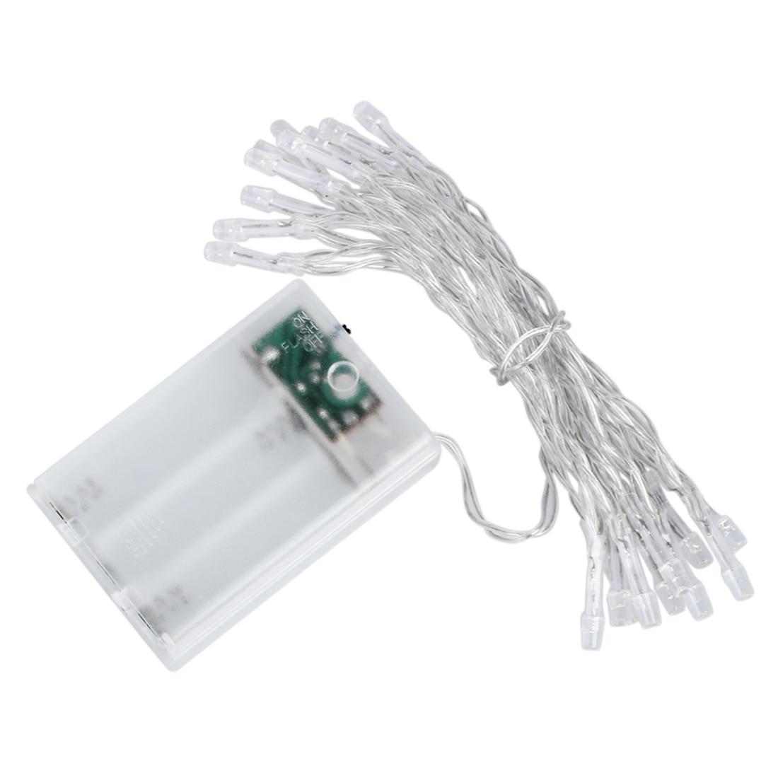 2m 20 font b LED b font Battery Operated Christmas Wedding Fairy font b String b