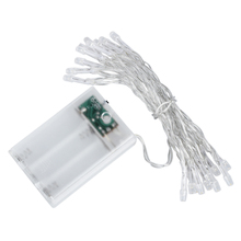 2m 20 LED Battery Operated Christmas Wedding Fairy String Lights,Warm white