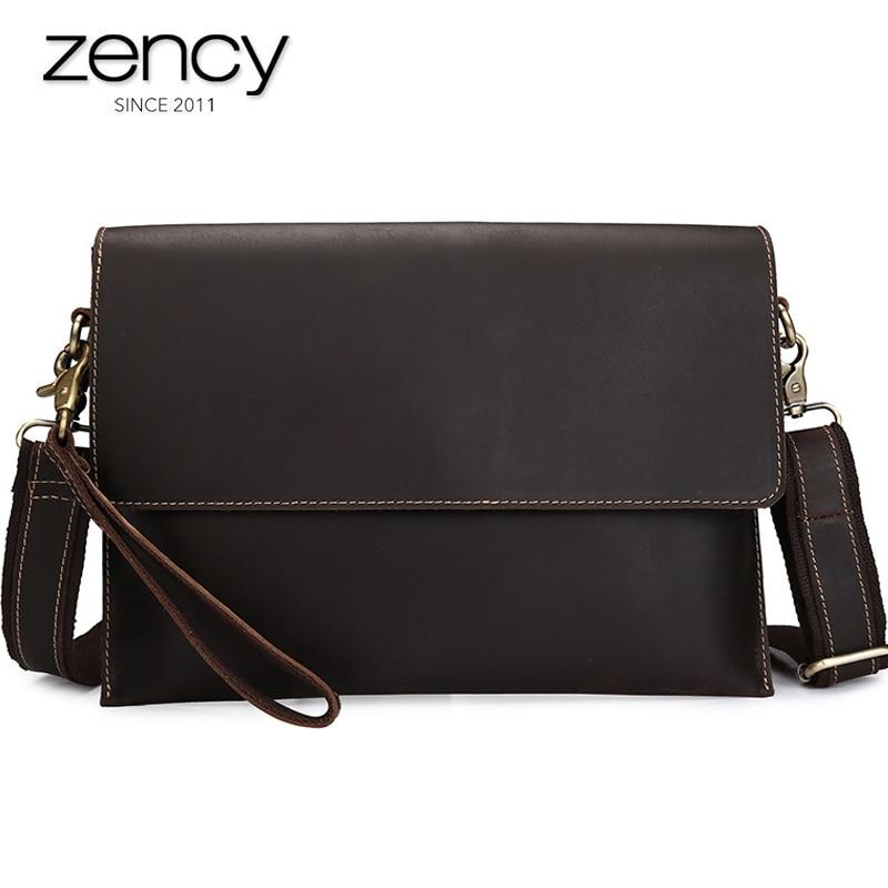 2017 New Arrival Fashion Envelope Clutch Bag High Quality Genuine Leather Shoulder Bag Men's Totes Handbags Hot-Selling Bolsa