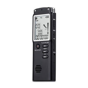 T60 Digital Voice Recorder 2 in 1/MP3 player Professional 8 GB Time Display Recording