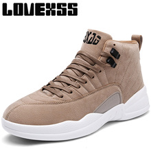 LOVEXSS Winter2017 Outdoor Athletic Basketball Shoes For Men Baloncesto Men's Sneakers Ankle Boots Sport Shoes Man Brand