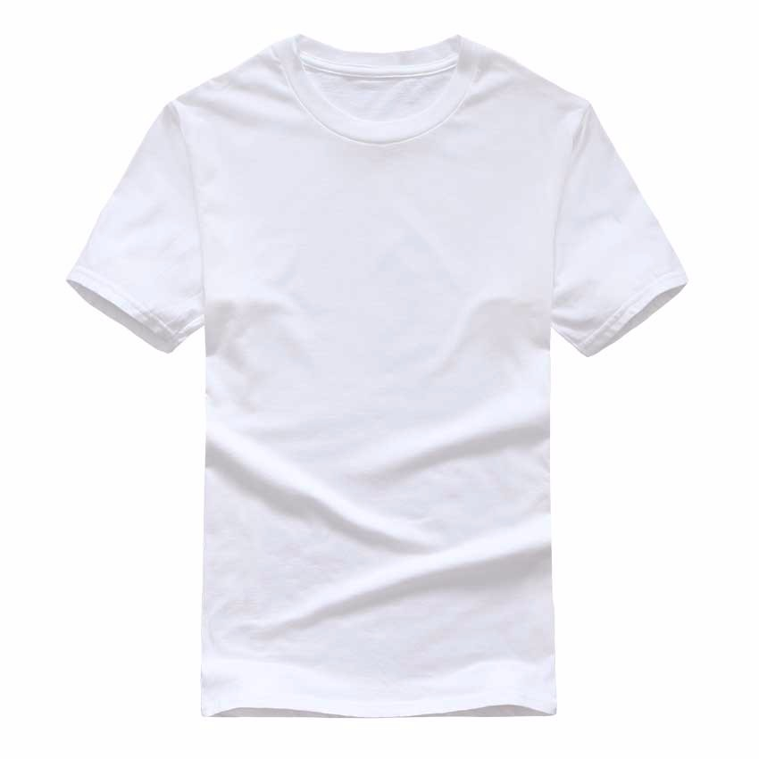 19 New Solid color T Shirt Mens Black And White 100% cotton T-shirts Summer Skateboard Tee Boy Skate Tshirt Tops European size 15