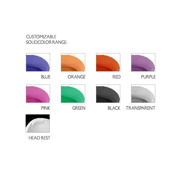 1700x800x480mm Novo Design Cor Sólida Free Standing Banheira Oval Forma RS6589-1-1