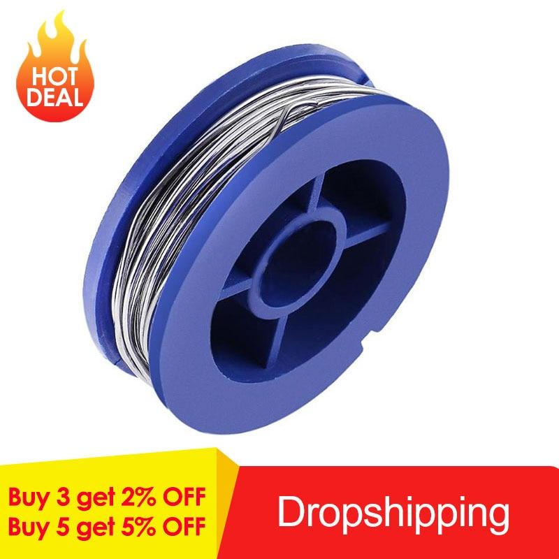 0.8mm Tin Lead Rosin Core Solder Soldering Wire Flux Content Solder Soldering Wire Roll Welding Wires 3.5x1.1cm