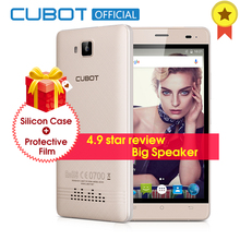 CUBOT ECHO 5.0 Inch 3000mAh Unlocked Smartphone Android 6.0 Cell Phone 2GB RAM 16GB ROM MTK6580 Quad Core Mobile Phone