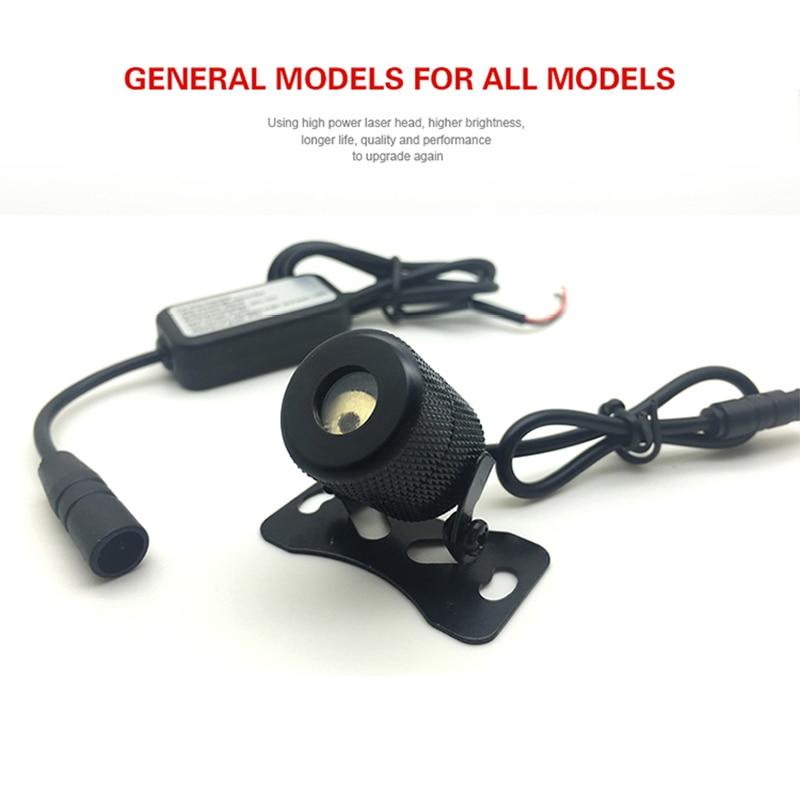 Автомобильный лазерный противотуманный фонарь с защитой от столкновений, Автомобильные стоп-сигналы для стоянкы, сигналы торможения, свет...