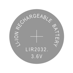 Image 2 - リチウムボタンコイン電池リチウムイオン充電式バッテリー LIR2032 置き換え CR2032