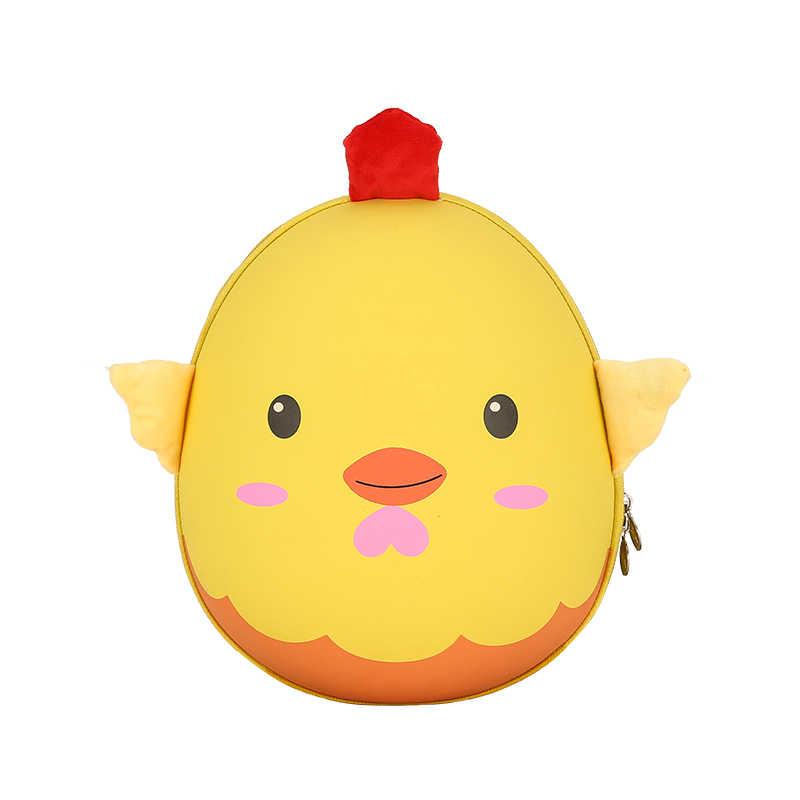 2019 легкий плюшевый мультфильм жесткий в виде ракушки сумка для обувь мальчиков девочек Детский рюкзак для детского сада, дошкольные сумки дети