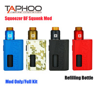 Original Squeezer BF Mechanical MOD Refilling Bottle Electronic Cigarette Squonk Vape Box Mod N RDA Tank 510 thread 20700