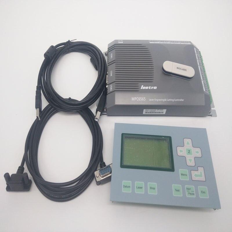 Leetro laser controller Leetro mpc6565 Co2 laser engraving cutter controller system