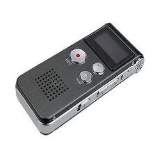 Venta caliente Del Envío Libre y Al Por Mayor NC1888 Vogue 8 GB de Audio Digital Grabadora de Voz Dictaphone Teléfono Recargable Reproductor de MP3