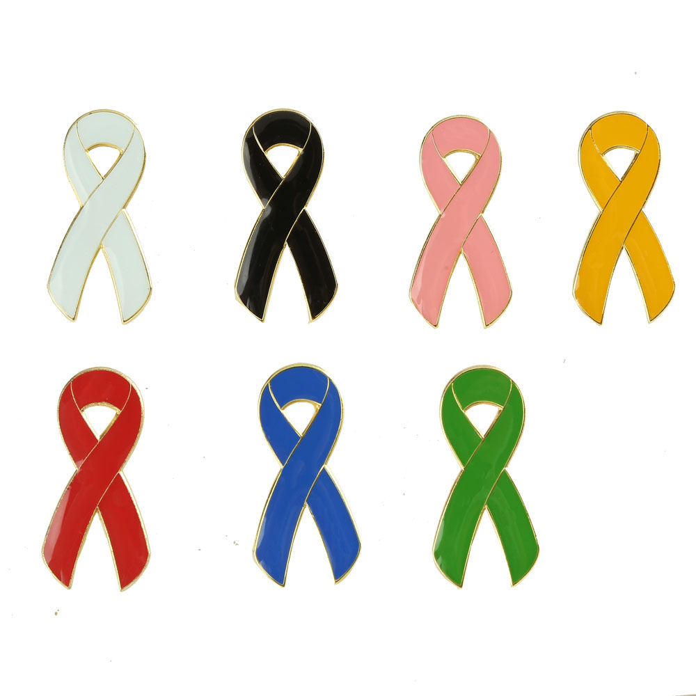 Wholesale 50 Pack AIDS HIV Awareness Red Ribbon Silicone Pins Perfect for World AIDS Day