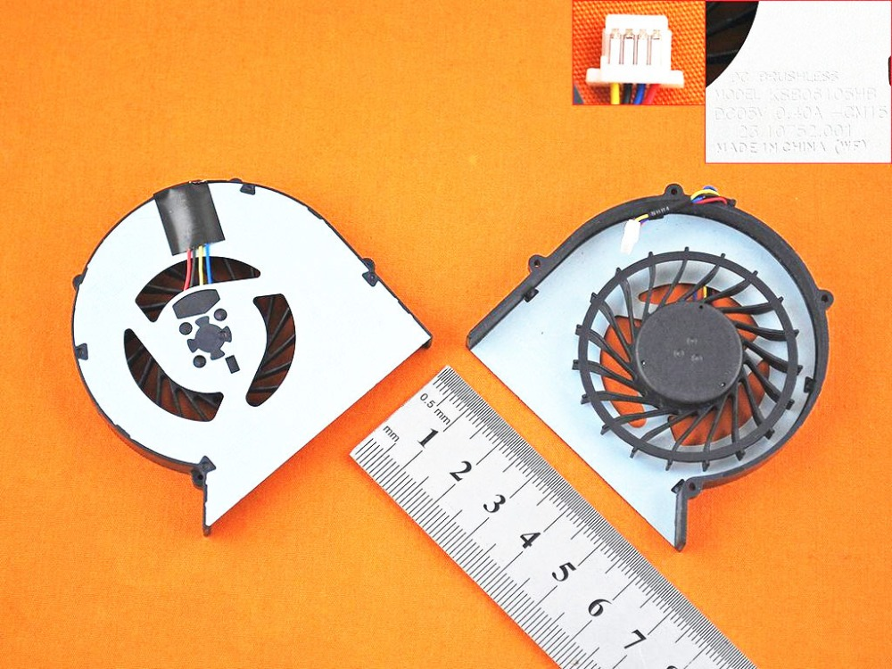 New Laptop Cooling Fan For <font><b>HP</b></font> <font><b>ProBook</b></font> <font><b>440</b></font> <font><b>G1</b></font> <font><b>440</b></font> 445 <font><b>G1</b></font> PN: 721538-001 Notebook Cooler Fans Replacement image