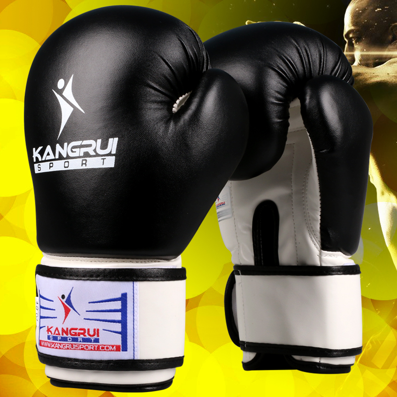 Kick Boxing Gloves MMA UFC Muay Thai Martial Arts Sparring Women Men Kids PU