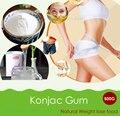 500g Thickener Konjac Gum Powder Dietary Fibers Meal Replacement Weight control Konjac Glucomannan Powder