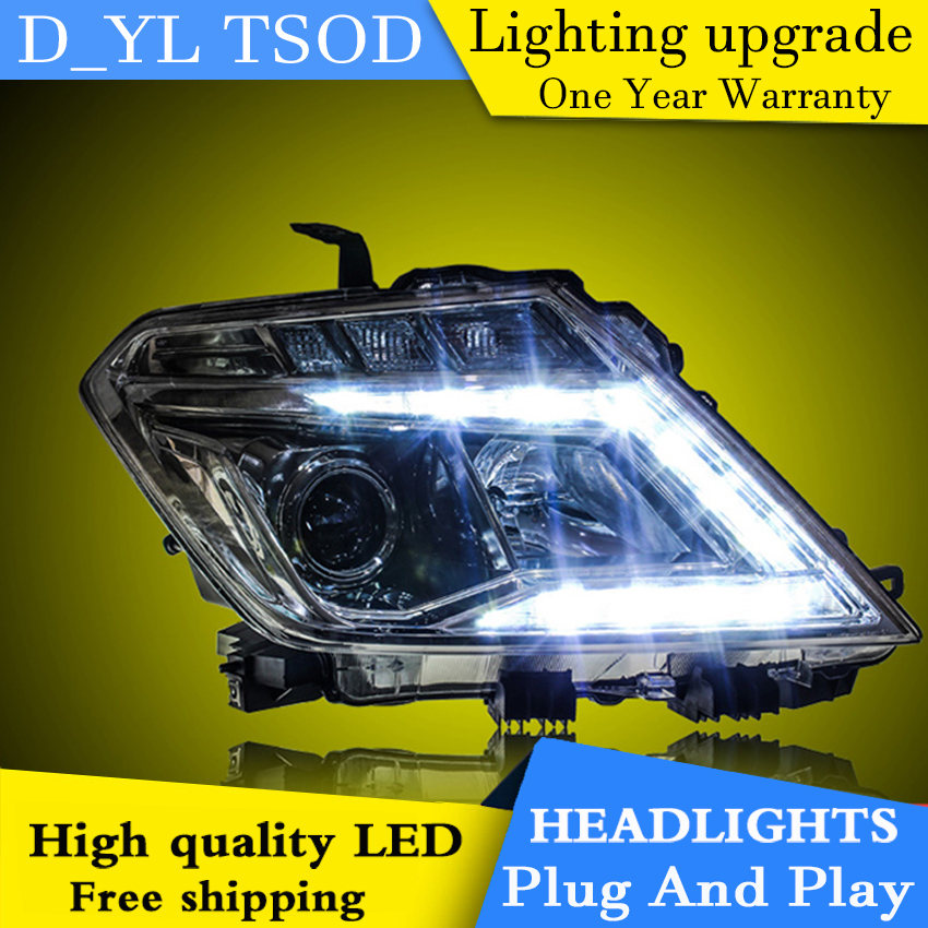 Car Styling Headlights For Nissan Patrol 14 16 Led Headlight For