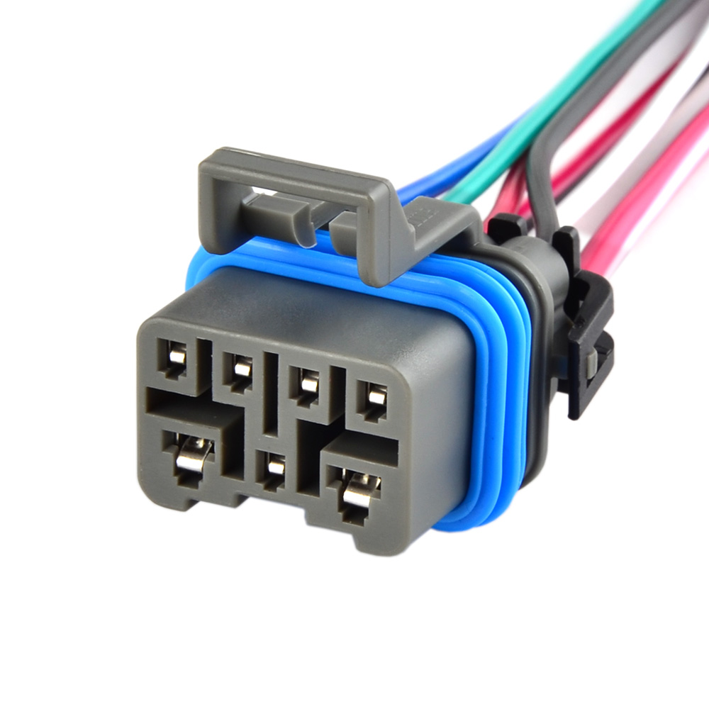 4l60e 4l80e neutral safety switch connector pigtail 7 wire mlps range switch for chevrolet blazer c1500 c2500 c3500 k1500 k2500 in fuses from automobiles  [ 1000 x 1000 Pixel ]