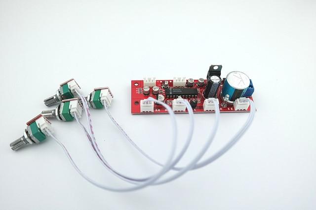Tablica dźwiękowa LM1036 z regulacją głośności tonów wysokich przedwzmacniacz tablica dźwiękowa