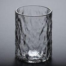 Круглая стеклянная чашка без свинца жаропрочный молоток для
