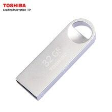 TOSHIBA USB flash drive 32GB USB2.0 TransMemory-Mini USB flash pen quality Memory Stick 32G USB Pen Drive Free shipping
