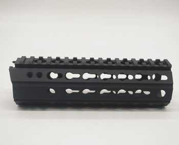 Aplus 7\'\'/12\'\'/15\'\' inch Ultralight New Design Keymod Handguard Rail Picatinny Mount System_fit .223/5.56_inside diameter 46 mm