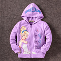 My little Girl Pony Kids Clothes Sofia princess hoodies Children's Coat Cute Girls hoodies girls Cotton Jacket children clothing
