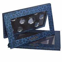 Miskos Leopard Empty Magnetic Palette Makeup Pigment Gloss Powder Fundation DIY Refill Palette Refill Eyeshadow Cosmetics