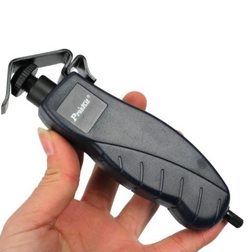Ücretsiz kargo Proskit araçları 8PK 325 Fiber optik striptizci kablo ceket eğme 4.5 25mm