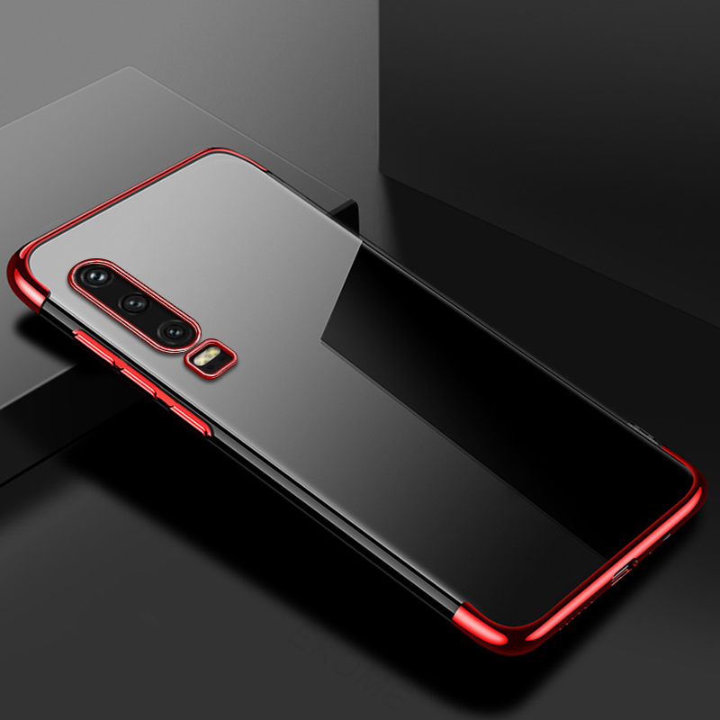 For-Huawei-P30-P20-Lite-P20-Pro-Y7-Y6-Pro-Y9-2019-Case-Soft-Silicone-Plating YU