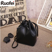 New Product Luxury Brand Designer Bucket Bag Women Leather Shoulder Bag Handbag Large Capacity Crossbody Bag