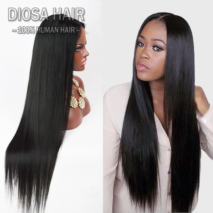 7A Lace Front Human Hair Wigs for black Women