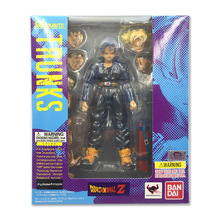 Dragon Ball Z S.H.Figuarts Future Trunks Action Figure Sculptures Figure Collectible Mascot Kid Toys Color Edition