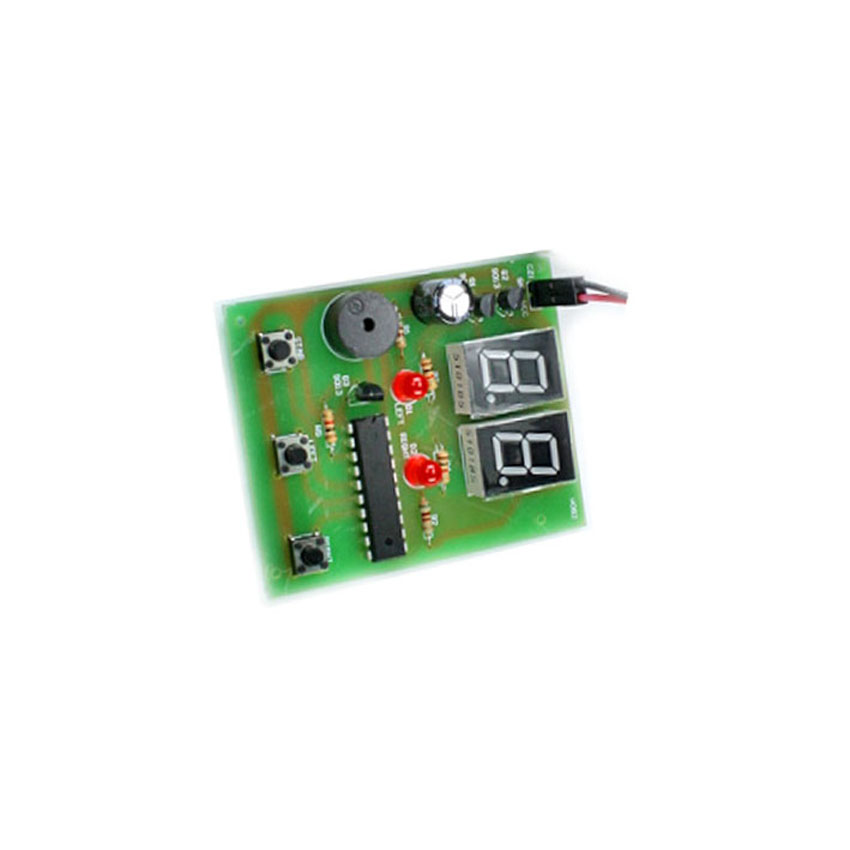 Computer Product Tester human body reaction speed tester board finished product human body reaction speed detection circuit module 5pcs/lot