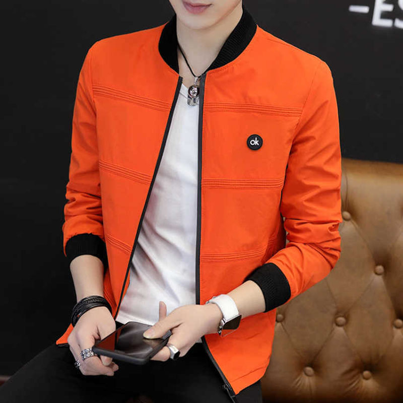 Men 'S Casual Premium Varsity Baseball Jacket College Style Letterman Sweater Coat Male Jacket 2019 Spring New Style Korean-Styl 19
