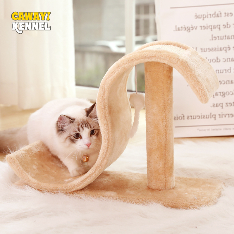 CAWAYI chenil pour animaux de compagnie chat escalade arbre chaton grattoir planche à gratter pour chats sjump plate-forme mascotas rascador gato