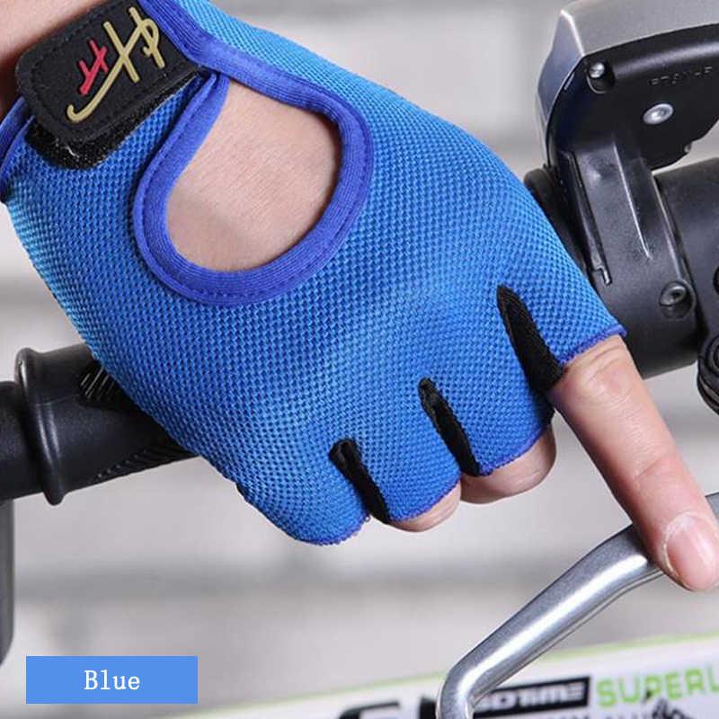 Перчатки велосипедные перчатки без пальцев противоскользящие анти-пот мужские и женские дышащие противоударные Спортивные Перчатки MTB велосипедные перчатки пара моделей