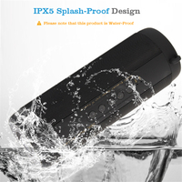 M & j t2ワイヤレス最高のbluetoothスピーカー防水ポータブル屋外ミニコラムボックススピーカースピーカーデザイン用iphone xiaomi