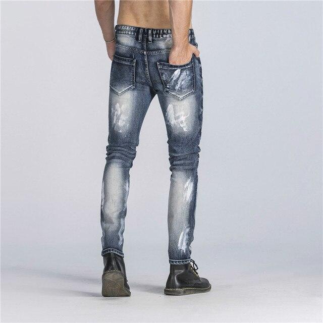 Biker Jeans Pants With Multi Zipper 2