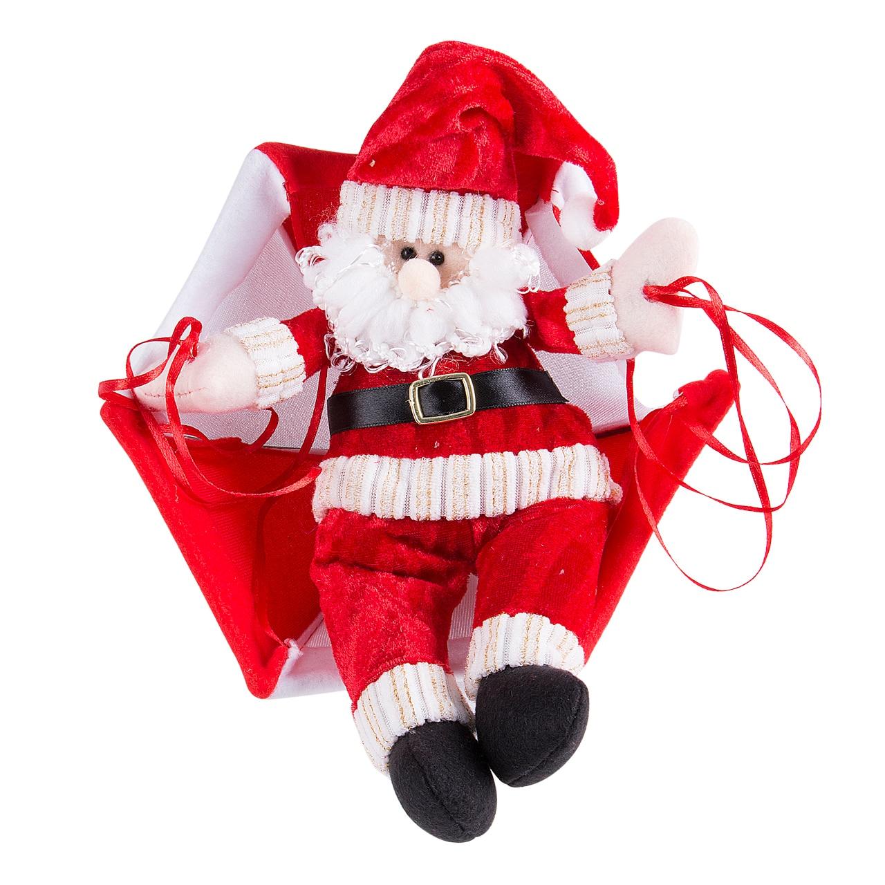 Christmas tree hanging decorations new parachute santa claus snowman - Christmas Tree Hanging Decoration Parachute Snowman Santa Claus Ornaments Xmas M China Mainland