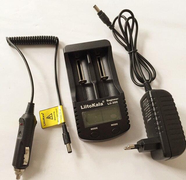 LiitoKala Lii-300 Digital Display LCD teste de capacidade Da Bateria 18650 carregador 18650 Carregador carregador de bateria Frete grátis