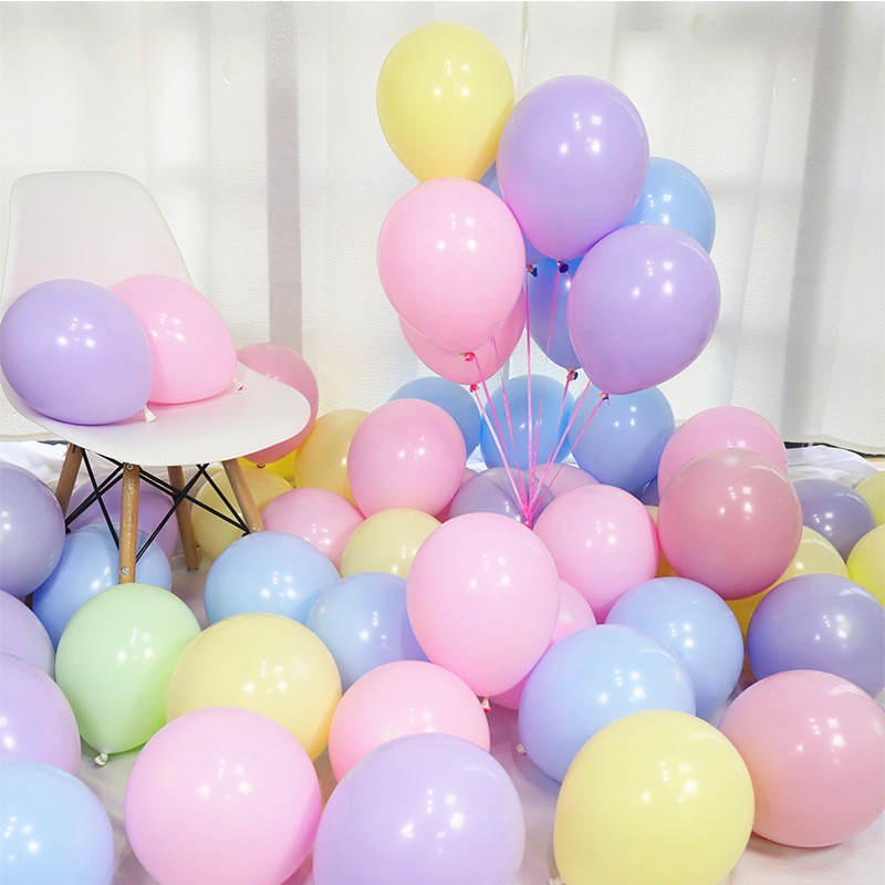 10pcs-12inch-5inch-Rose-Gold-Confetti-Balloon-Latex-Balloon-Happy-Birthday-Baloon-Wedding-Decoration-Ballon-Event