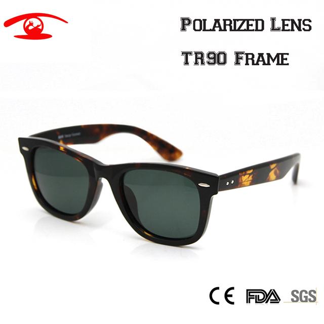 New 2016 óculos de sol dos homens polarizados pesca óculos tr90 quadro marca designer oculos de sol sombra ao ar livre esporte oculos feminino