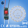 1 set 1W 3W 5W 7W 9W 12W 15W 18W 21W 24W 30W 36W LED bulb spot light Star high power  chip board panel+led power supply driver