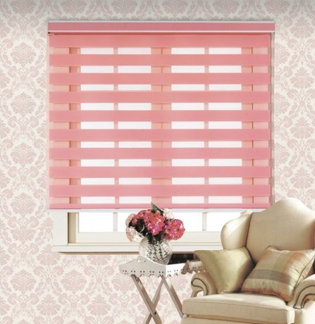 Thickened Korean soft gauze shutter curtain double blackout blinds ...