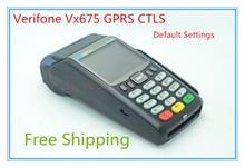Verifone Estrenar Vx675 GPRS POS Terminales de tarjetas de Crédito lector
