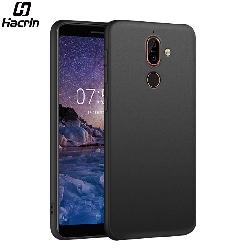 Case for Nokia 7 Plus Cover Shockproof Soft TPU Case Ultra Thin Protector Bumper Shell Matte Back Cover For Nokia 7 Plus
